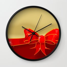 Matalic Cleff Wall Clock