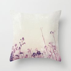 Landscape 1 (red tones) Throw Pillow