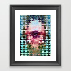 There is no way to avoid it even if you wanted to. Framed Art Print