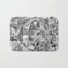 The Letter C Bath Mat