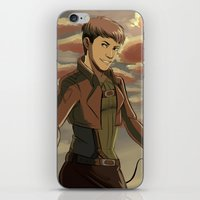 cassandra jean iPhone & iPod Skins featuring Jean by Marco