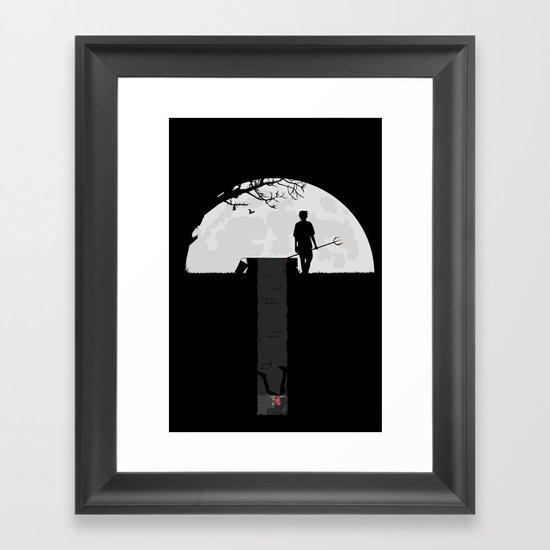 Dumped Framed Art Print