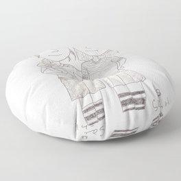 rugby Floor Pillow