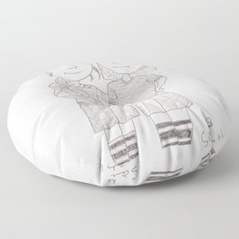 rugby Floor Pillow