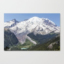 Mount Rainier on the Sunrise Side Canvas Print