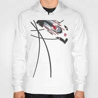 tron Hoodies featuring e-tron by Cale Funderburk