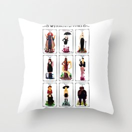 Witches are bitches  Throw Pillow