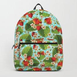 Botanical Strawberries Backpack