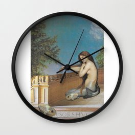 A Fish Out of Water Wall Clock