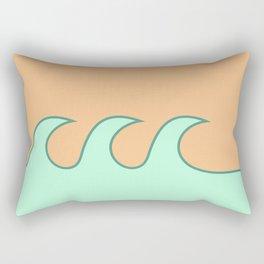 Sea Foam-o Rectangular Pillow
