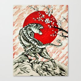 Japan Tiger Canvas Print