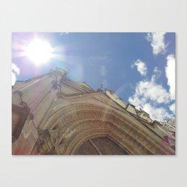 La Basílica del Sagrado Voto Nacional, Uno Canvas Print