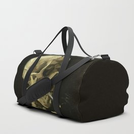 Skull of a Skeleton with Burning Cigarette by Vincent van Gogh Duffle Bag