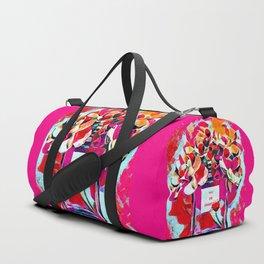 Perfume Pink Duffle Bag