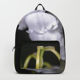 Lily of the valley close up Backpack