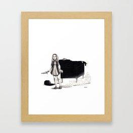 When Sally Snaps Framed Art Print
