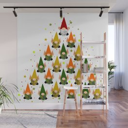 Merry Gnoming Christmas Wall Mural