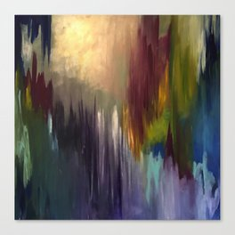 The Messenger Abstract Canvas Print