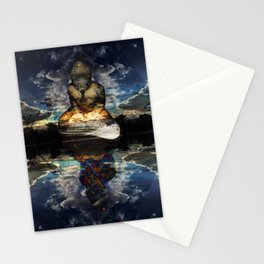 The Mirrored Surface Stationery Cards