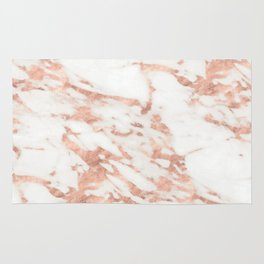 Taggia rose gold marble Rug