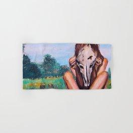 Skull Hand & Bath Towel
