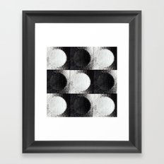 Day, Night, Day, Night, Day etc... Framed Art Print
