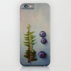 Fern and Blueberries Slim Case iPhone 6