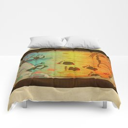 Cave Dwelling Native American Comforters