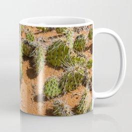 Green and Orange Cacti Coffee Mug