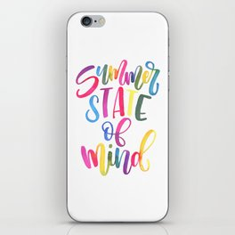Summer State Of Mind iPhone Skin