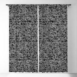 Huge Scribble Blackout Curtain