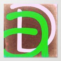 daria Canvas Prints featuring Daria 4 by Jensen Merrell Designs