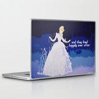 cinderella Laptop & iPad Skins featuring Cinderella  by ZeebraPrint