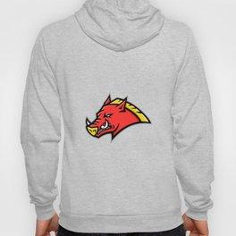 Angry Razorback Mascot Hoody