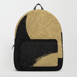 Gold Sun Oil Painting Backpack
