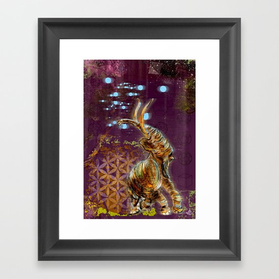 Platonic Solid Framed Art Print