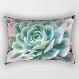 Pastel Succulent 2 Rectangular Pillow