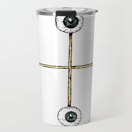 Sacrificed Eyes Travel Mug