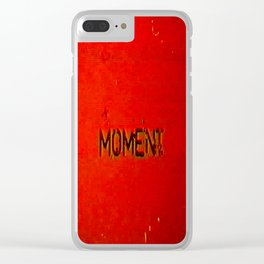 shifted moment Clear iPhone Case