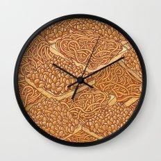 Baked Beans & Spaghetti On Toast Wall Clock