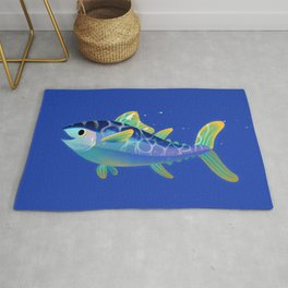 Atlantic Bluefin Tuna Rug