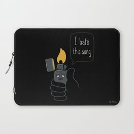 Mad Music Lighter Laptop Sleeve