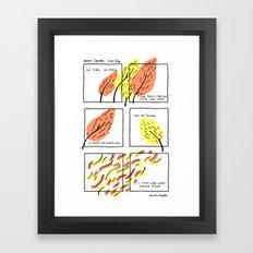 DENISE LEVERTOV - LOVE SONG Framed Art Print