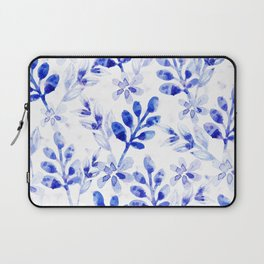 Watercolor Floral VVII Laptop Sleeve