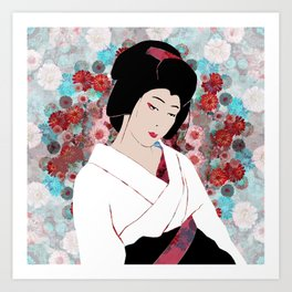 Japanese thoughts I Art Print