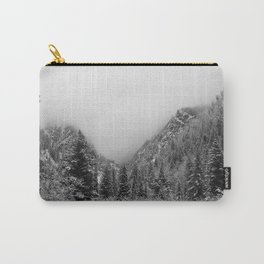 Fog in the Canyon Carry-All Pouch