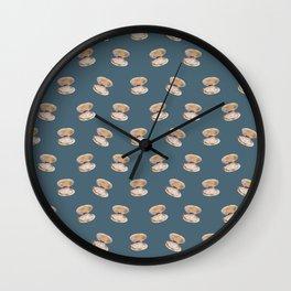Almejas a la andaluza Wall Clock