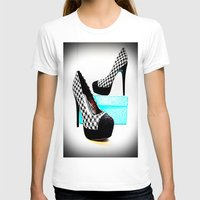 shoe T-shirts featuring Shoe Lust by 2sweet4words Designs