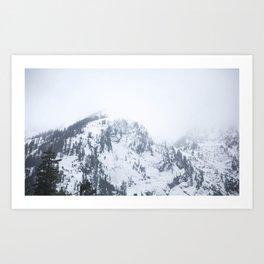 Mount Baker  Art Print