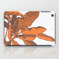 banana leaf iPad Cases featuring Banana Leaf Print by Home by Bear
